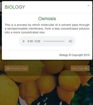 Learn Biology screenshot 3