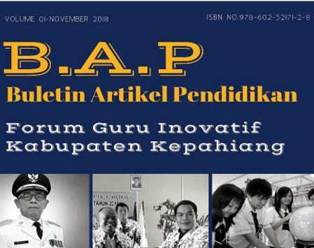 Buletin Artikel Pendidikan poster