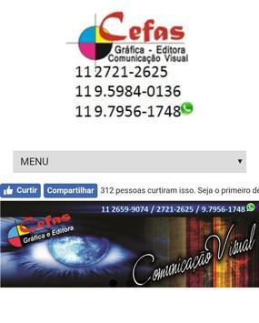Cefas Gráfica poster
