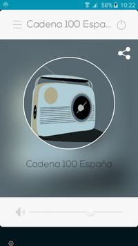 Cadena 100 España poster
