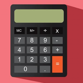 Calculator math icon
