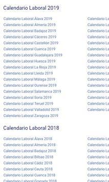 Calendario Laboral Castellon.Calendario Laboral For Android Apk Download