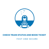 Check Train Running Status and Book Ticket icon