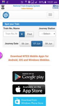 Check Train Running Status and Book Ticket poster