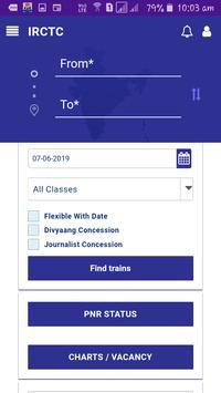 Check Train Running Status and Book Ticket screenshot 1