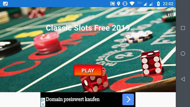 Classic Slots Free 2019 poster