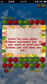 Crush Balloons screenshot 1