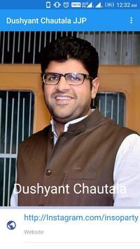 Dushyant Chautala JJP Affiche