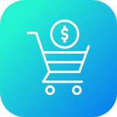 new shopping app easy to icon