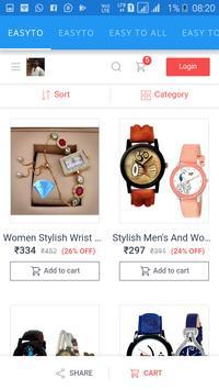 new shopping app easy to screenshot 3