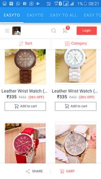 new shopping app easy to screenshot 4