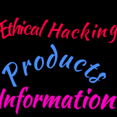 Ethical Hacking, Products and Information icon