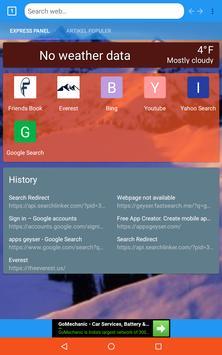 Everest web browser poster