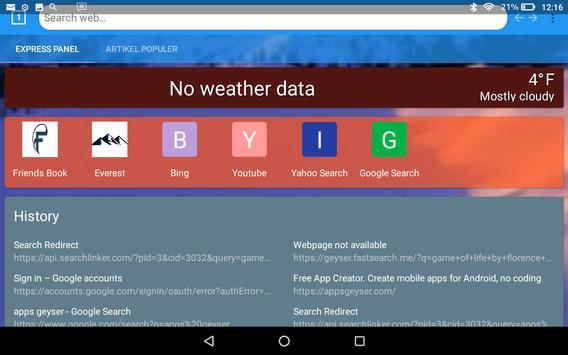 Everest web browser screenshot 2