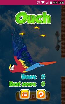 FLAPPY THE PARROT LCNZ BIRD GAME poster