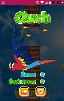 FLAPPY THE PARROT LCNZ BIRD GAME screenshot 2