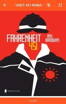 Fahrenheit 451 Romance por Ray Bradbury poster
