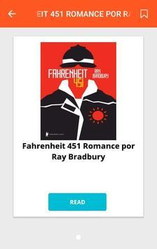 Fahrenheit 451 Romance por Ray Bradbury screenshot 1