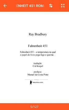 Fahrenheit 451 Romance por Ray Bradbury screenshot 8
