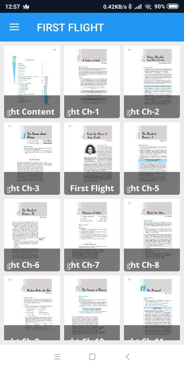 First Flight English Ncert Class 10th Book for Android - APK Download