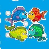 لعبة صيد السمك لعبة  Fishing Game icon