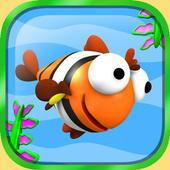 Flying Flag Fish Game icon