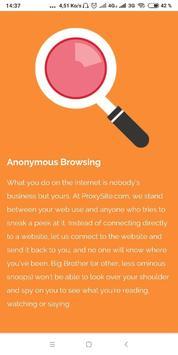 Free Web Proxy screenshot 7