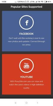 Free Web Proxy screenshot 4