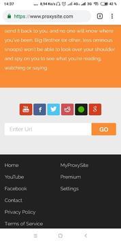 Free Web Proxy screenshot 5