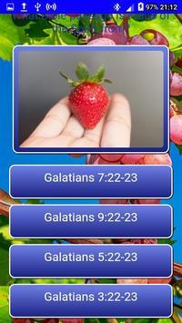 Fruits of the Spirit LCNZ Bible Quiz screenshot 1