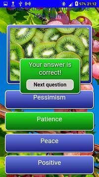 Fruits of the Spirit LCNZ Bible Quiz screenshot 4