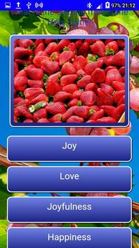 Fruits of the Spirit LCNZ Bible Quiz screenshot 6