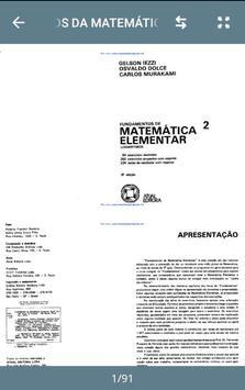 Fundamentos Da Matemática Elementar screenshot 2