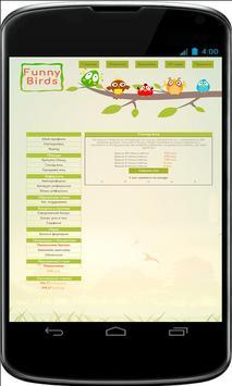 Funny Birds заработок screenshot 2