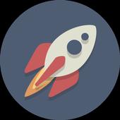 Galaxy survival icon