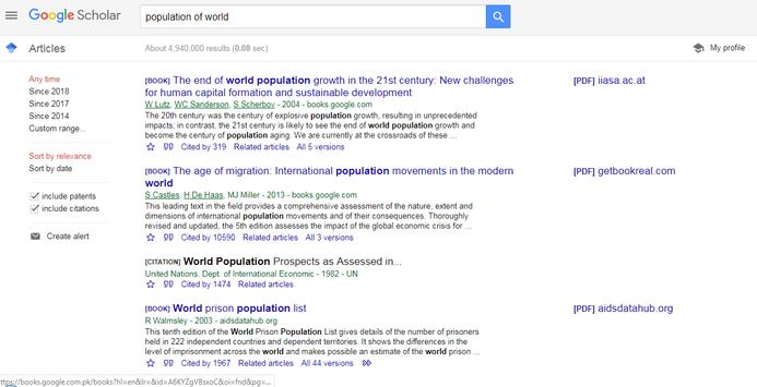 Google Scholar (Go Scholar) poster
