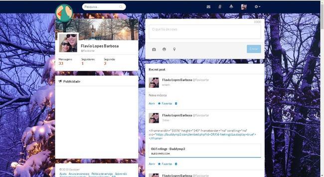 Gossiper screenshot 1