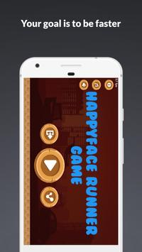 HappyFace Runner Game poster