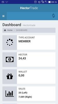 Hector Trade screenshot 3
