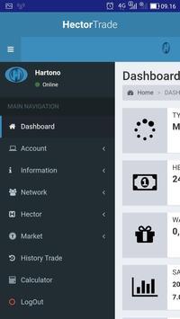 Hector Trade screenshot 2