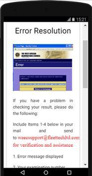 How to check WAEC results screenshot 3