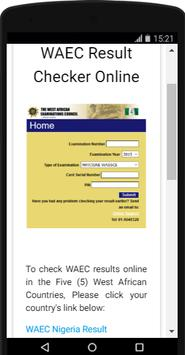 How to check WAEC results screenshot 1