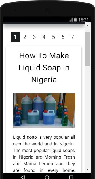 How To Make Liquid Soap in Nigeria for Android - APK Download