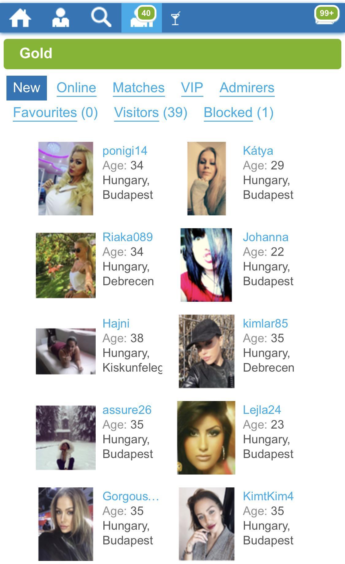 Unkari dating online