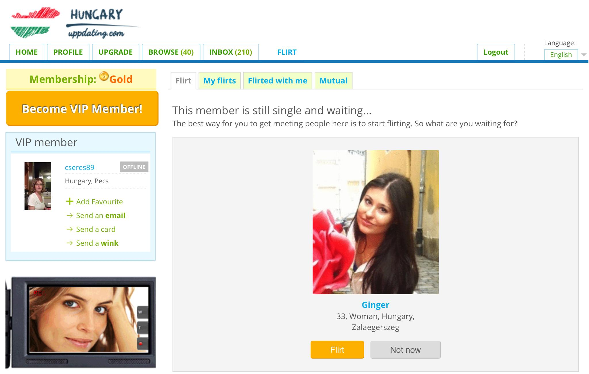 Dating site im 17