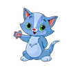 Jumping japak cat icon