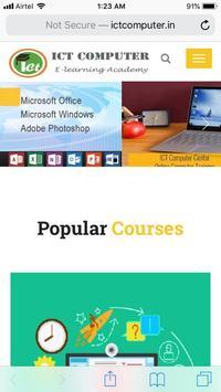 ICT Computer poster