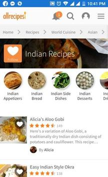 INDIAN FOOD RECIPE poster