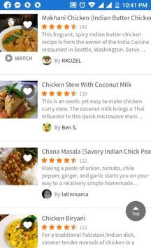 INDIAN FOOD RECIPE screenshot 1