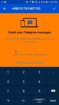 ITelegram screenshot 1